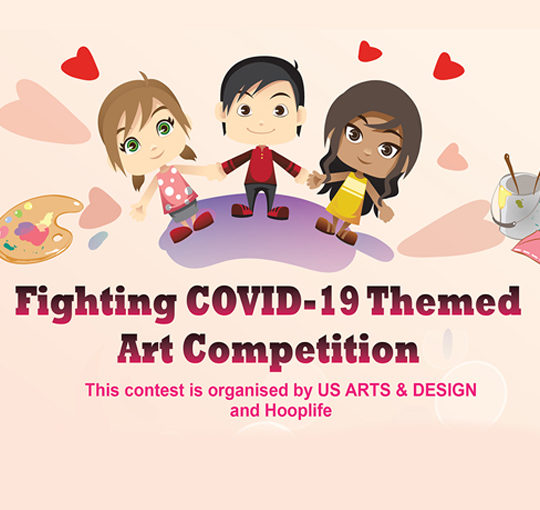 Fighting COVID-19 Themed  Art Competition